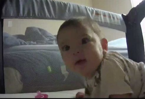 baby refuses to be recorded